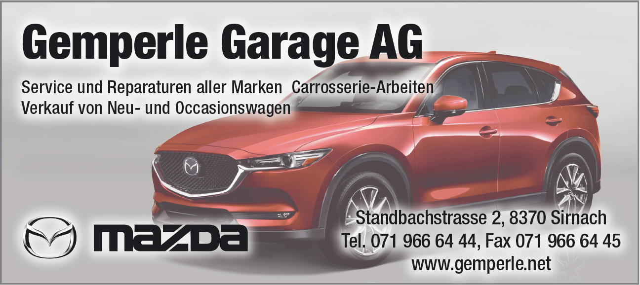 Gemperle Garage AG